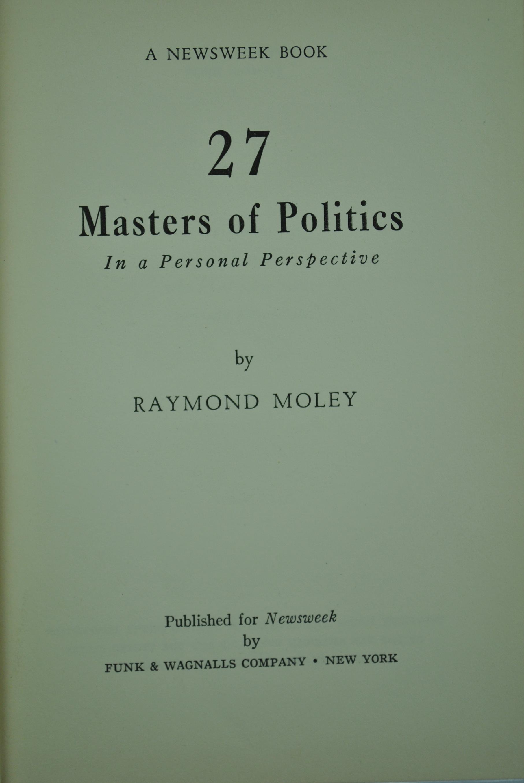 Eunice Johnson Kansas City Cover Moley Raymond Masters Of Politics