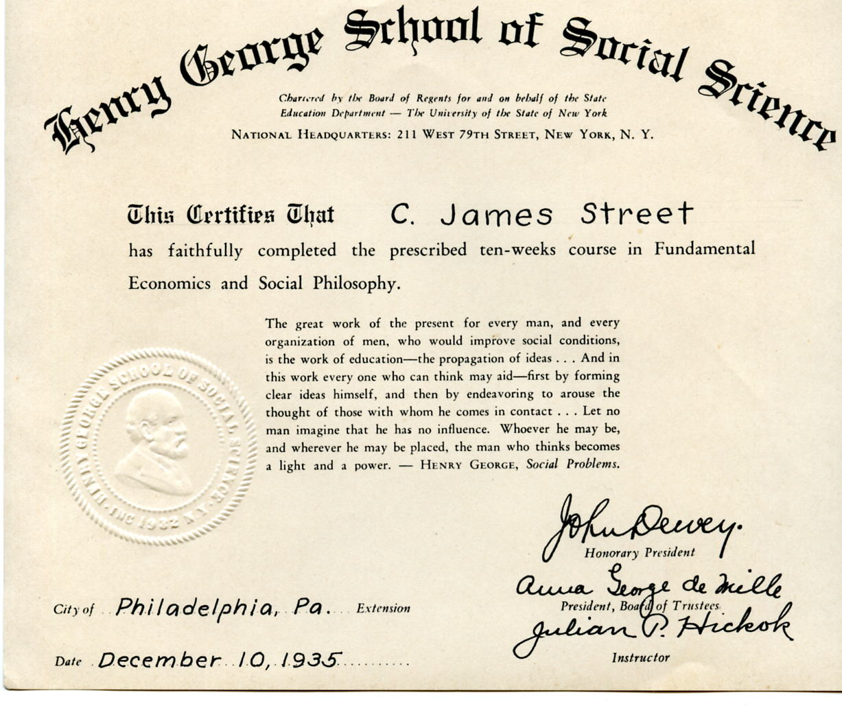 School of cooperative individualism biographical history of the school of cooperative individualism biographical history of the georgist movement united states he hh 1betcityfo Gallery
